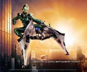 Puzzle Le Bouffon Vert est un personnage considéré comme un des ennemis de Spider-Man