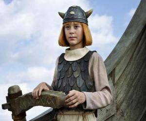 Puzzle Le célèbre Vicky le Viking