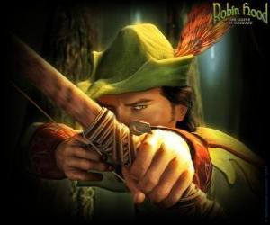 Puzzle Le célèbre archer Robin des Bois