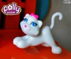Puzzle Le chat de Polly Pocket