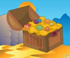 Puzzle Le coffre aux trésors d'Aladdin