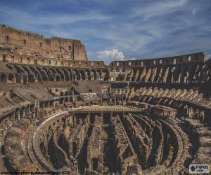 Puzzle Le Colisée, intérieur
