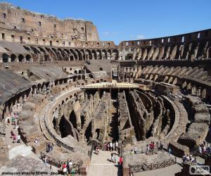 Puzzle Le Colosseum à Rome