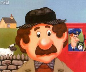 Puzzle Le fermier Alf Thompson