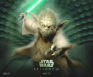Puzzle Le grand maître Yoda, un maître du Jedi