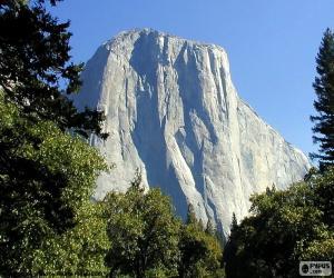 Puzzle Le Half Dome, Yosemite, EUA