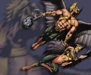 Puzzle Le Hawkman ou Hawkgirl