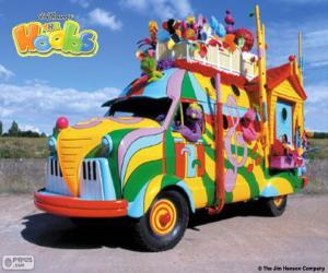 Puzzle Le Hoobmobile de Les Hobbs