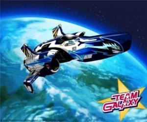 Puzzle Le Hornet est l'engin spatial dans l'équipe Galaxy