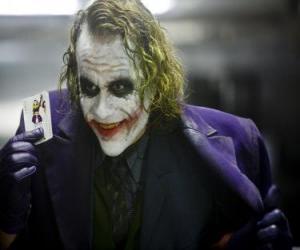 Puzzle Le Joker est le plus grand ennemi de Batman et l'un des méchants les plus populaires