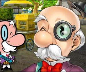 Puzzle Le maire de Townsville. Townsville est la ville où ils passent les aventures de Les Supers Nanas