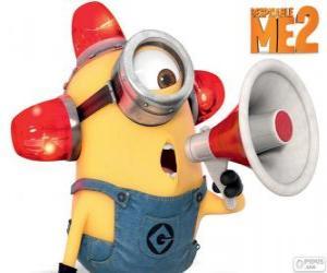 Puzzle Le minion Carl