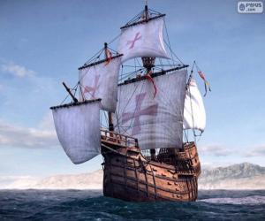 Puzzle Le navire Santa Maria