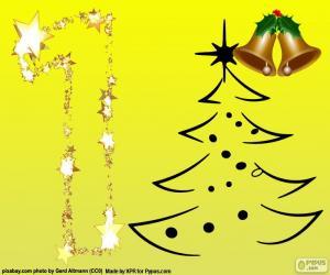 Puzzle Le numéro 1, Noël