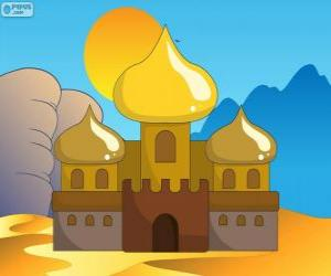 Puzzle Le Palais d'Aladin et la princesse