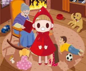 Puzzle Le Petit Chaperon rouge