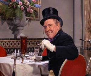 Puzzle Le Pingouin, le monsieur de la criminalité est l'un des ennemis de Batman