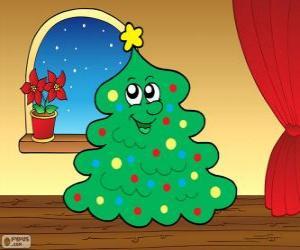 Puzzle Le sapin de Noël
