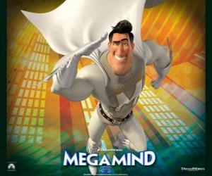 Puzzle Le super-héros Metro Man est le rival du super-vilain Megamind