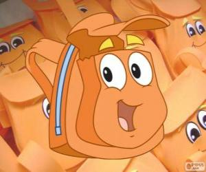 Puzzle Le sympathique sac à dos magique de Diego