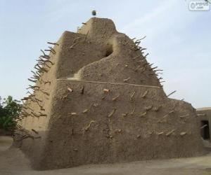 Puzzle Le tombeau des Askia, Gao, Mali