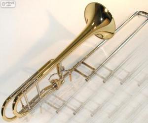 Puzzle Le trombone est un instrument de musique à vent