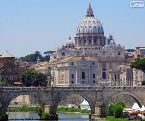 Puzzle Le Vatican, Rome, Italie