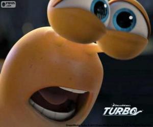 Puzzle Le visage de Turbo