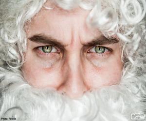 Puzzle Le visage du Père Noël