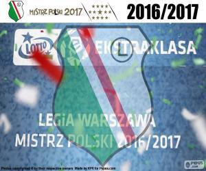 Puzzle Legia, champion 2016-2017