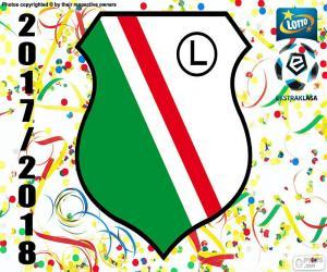Puzzle Legia Varsovie, Ekstraklasa 17-18