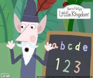 Puzzle L'elfe de vieux sage est un gobelin de 250 ans, sait tout