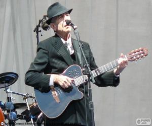 Puzzle Leonard Cohen (1934-2016)