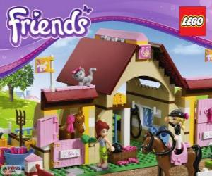 Puzzle Les Écuries de Heartlake City, Lego Friends