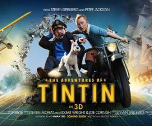 Puzzle Les Aventures de Tintin : Le Secret de La Licorne