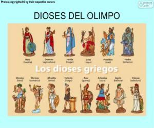 Puzzle Les Dieux grecs