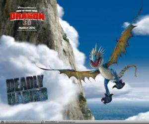 Puzzle Les dragons Dragon Vipère sont rapides et agiles dans l'air et peut voler sur de longues distances