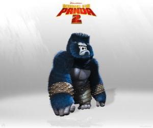 Puzzle Les gorilles sont le muscle dans l'armée de l'Seigneur Shen