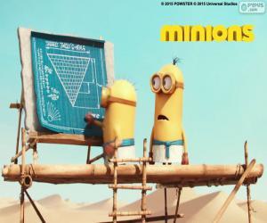 Puzzle Les minions en Egypte
