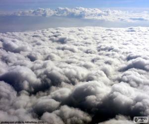 Puzzle Les nuages