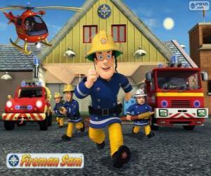 Puzzle Les pompiers de Pontypandy