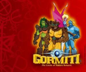 Puzzle Les puissants Seigneurs de la Nature, ceux choisis pour sauver l'île de Gorm