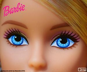 Puzzle Les yeux de Barbie