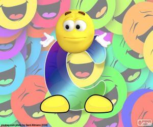 Puzzle Lettre C de smiley