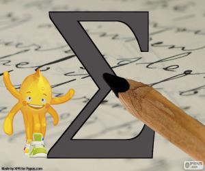 Puzzle Lettre grecque Sigma