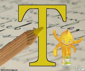 Puzzle Lettre grecque Tau
