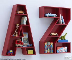Jeux de puzzle de lettres alphabet casse t tes 3 - Z en majuscule ...