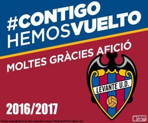 Puzzle Levante UD 2016-2017