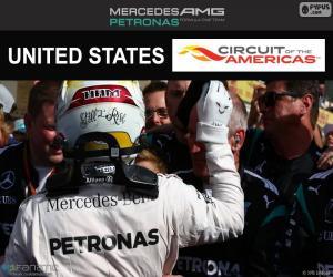Puzzle Lewis Hamilton GP États-Unis 2016