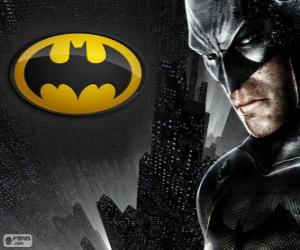 Puzzle L'homme chauve-souris, le super-héros Batman